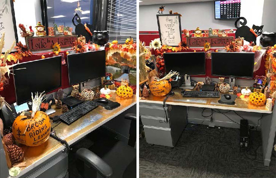 Decoration Contest at our Phoenix, Arizona Call Center